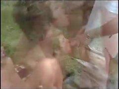 Amateur - Hard Nips Little Tiits Outdoor MMF - Filmed by Hus