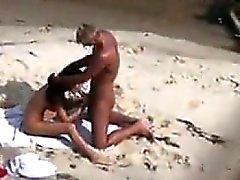 Beach Couple Sucking And Fucking