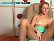 Hot Blonde Fingering Her Pussy On Webcam
