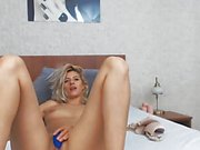 Sexy Babe Giving Herself The Ultimate Pleasure