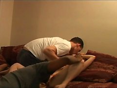 Russian amateur interracial and swallow