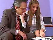 Delightful anal sex with her teacher