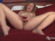 Curly Haired Ruby Toy Her Twat