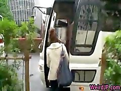 Crazy asian girls have hot bus tour 1 part2