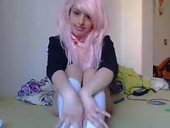 Amateur Teeny Schoolgirl Blowjob Fuck and Facial