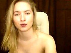 Convincing Erotic To Masturbate onto cam
