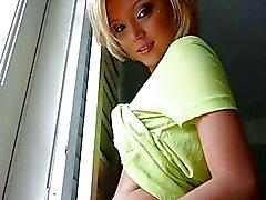 Cute gf Dakota Skye anal nailed at home