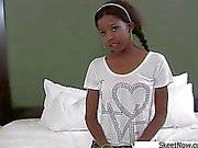 Ebony Schoolgirl Gets Railed Nevaeh