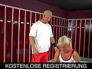 vom Sportlehrer benutzt, deutscher Porno