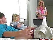 Brandi Love caught teen Casi having sex