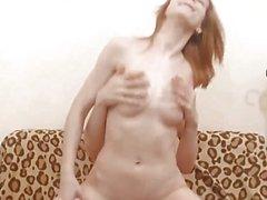 Pretty Latvian Hottie Gets Her Vag Stuffed