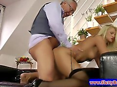 Teen amateur masturbating before sex