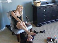 Office Foot Slave