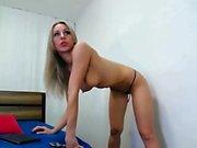 Hot Amateur Blonde Big Toys Anal
