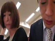 Cute Japanese Likes Threesome
