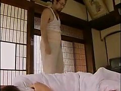 Adorable Japanese babe gets her hot honey hole drilled by a