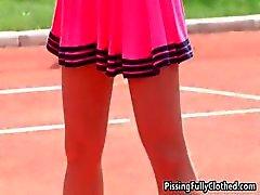 Horny tennis instructor seducing part6
