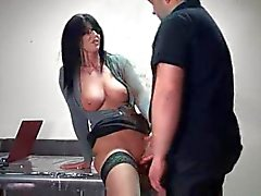 Mega hot amateur taking dick from behind