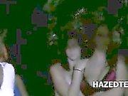 Ritual hazing of cute teen girls