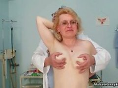Dirty mature housewife getting naked