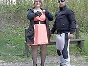 French milf Sophia sodomyzed by 2 guys