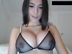 Busty babes enjoying lesbian sex on webcam