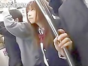 japanese schoolgirl creampie fucked in train 03