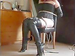 Anna thighboot bondage