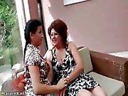 Busty brunette mature lesbian women part5