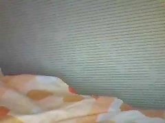 Lovely horny teen masturbation show on webcam