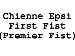 Video Chienne Epsi First Fist