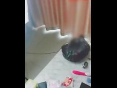 Hot Chinese Lady Creampied on Sofa