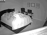 late night creeper as husband sleeps