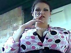 Big Boobs Classy Smoker