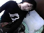 Cute Asian Yuna Kawakami POV blowjob