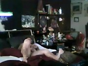 MILF amateur handjob blonde on knees receiving bukkake