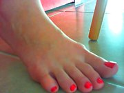 Feet for jerking your cock.wmv