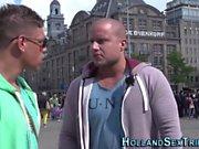 Dutch hooker cunt spunked