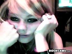 Bored Emo Webcam Girl