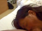 Horny japanese milf kui somya hard fucking and creampie