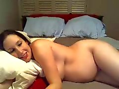 pregnant milf enjoying cock