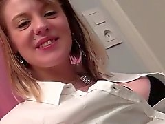 pregnant pierced blonde dp