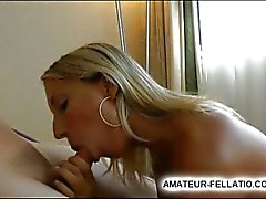 amazing beauty sucks cock and swallows load