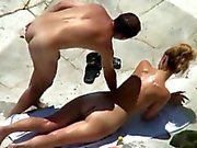 Fucked on beach 2