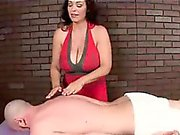 Horny Masseuse's Got More Plans Even After His Orgasm