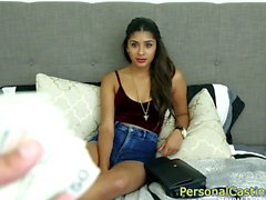 Casting latina beauty banged doggystyle