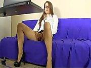 pillada masturbandose por la cam