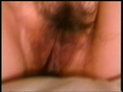 Pigtailed Asian cutie with big tits has a horny guy pleasing her pussy