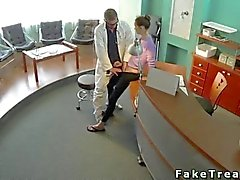 Doctor knows how to make her happy