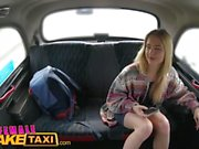 Female Fake Taxi Out of town visitor gets sexual tour of cabbie's pussy